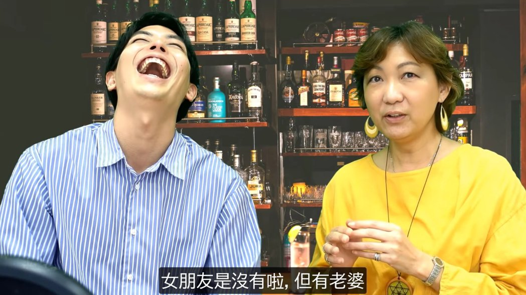 龍羽渡邊談到福原愛被男方裝單身的話術欺騙。 圖/擷自Youtube