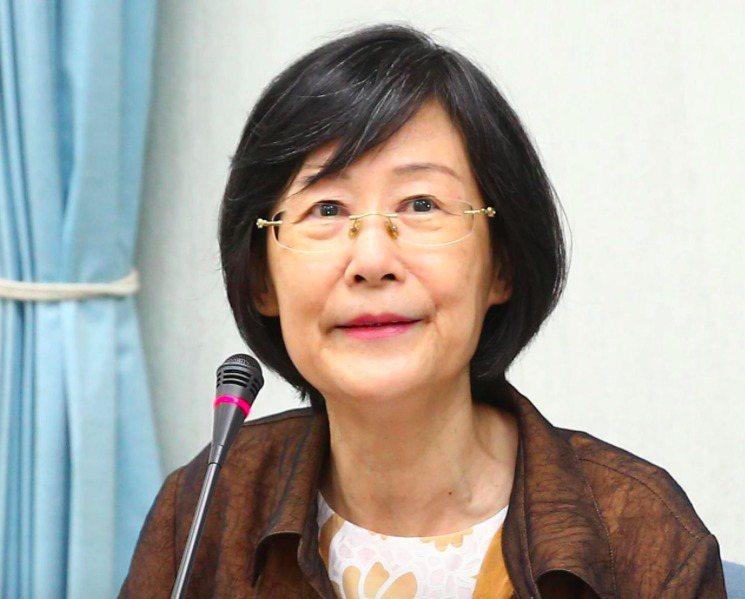 法務部前部長、兒福聯盟基金會董事長羅瑩雪昨晚辭世。圖/本報資料照片