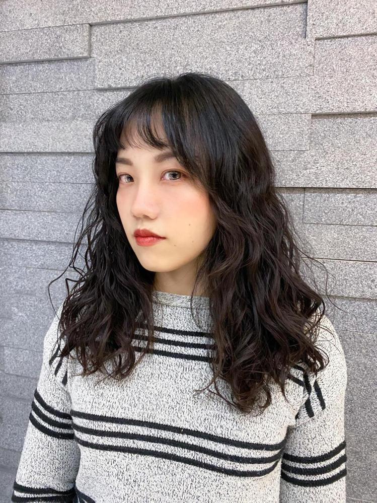 髮型創作/STUDIO M Salon / 艾咪 Ivy,圖/StyleMap美...