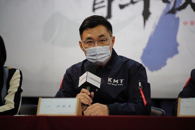 國民黨主席江啟臣。本報資料照片