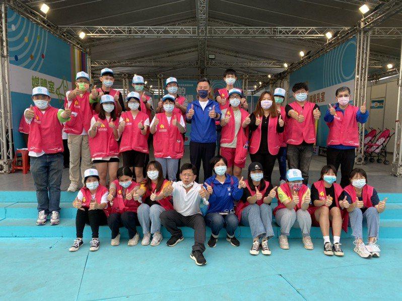 700名熱心志工投入兒藝節服務。圖/新竹市政府提供