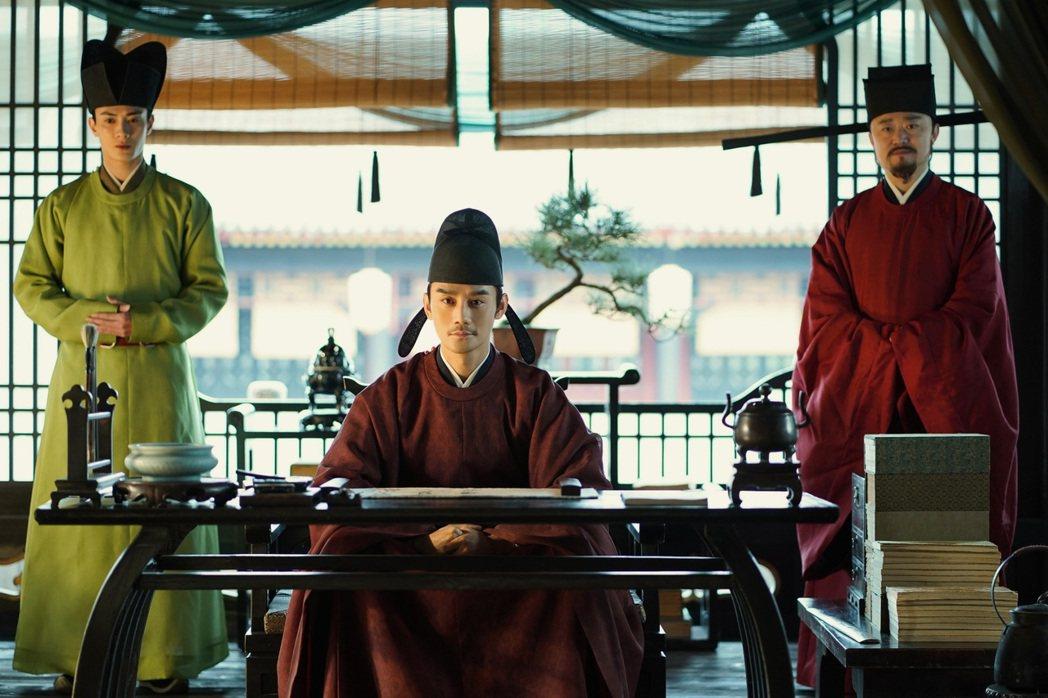 王凱演出宋仁宗,為角色下了「很能忍的皇帝」註解。圖/中視提供