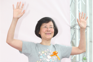 前法務部部長、兒福聯盟基金會董事長羅瑩雪昨日晚間因乳癌逝世,享壽69歲。圖/本報...