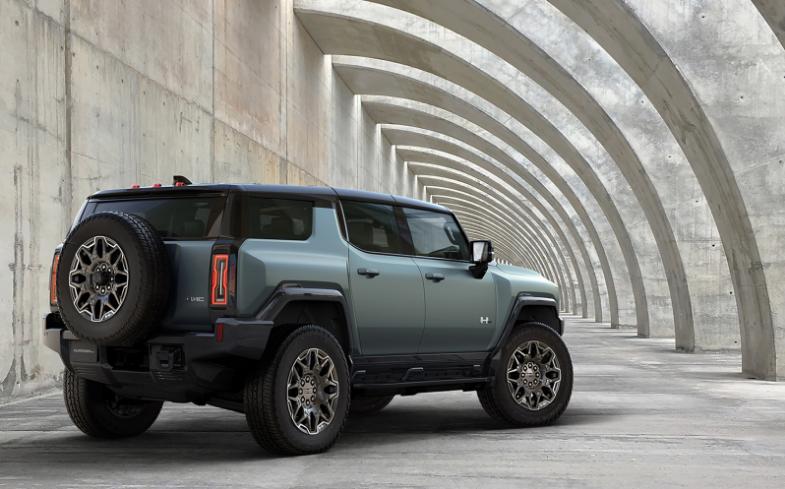 通用汽車發表純電動悍馬SUV。圖取自GMC