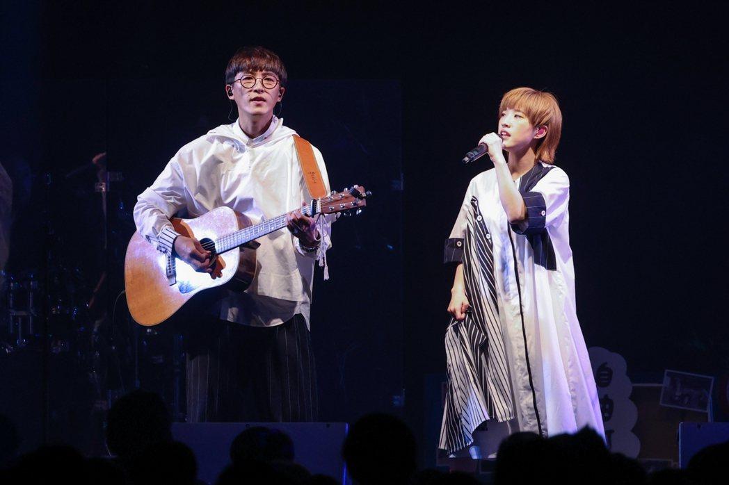 休團8年的棉花糖正式復出開唱。記者沈昱嘉/攝影