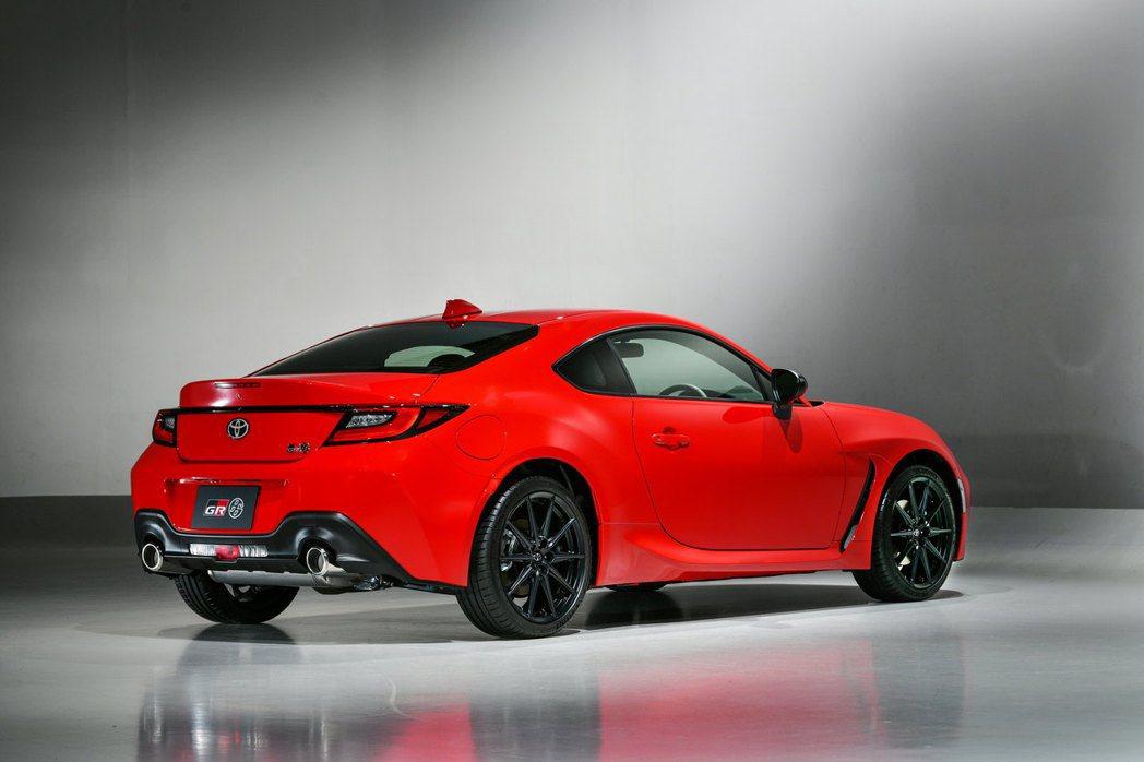 全新第二代Toyota GR 86。 圖/Toyota提供