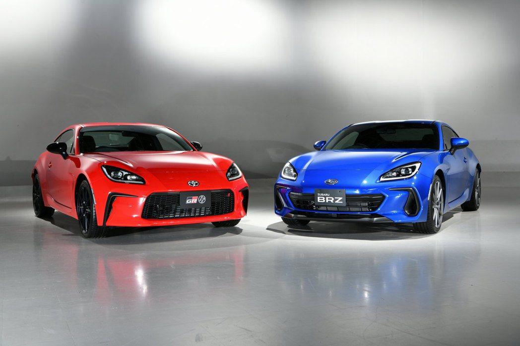 日規Toyota GR 86 & Subaru BRZ連袂發表。 圖/Toyot...