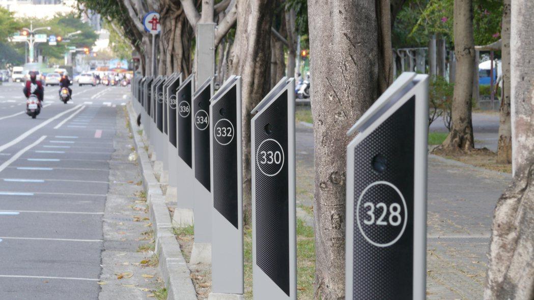 宏碁智通「智慧路邊停車計時收費系統」再奪臺南市智慧路邊停車案。 宏碁智通/提供