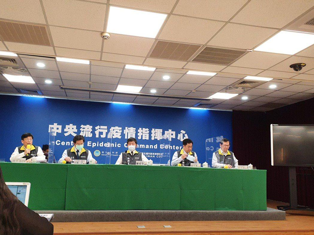 指揮中心今不開記者會。記者楊雅棠/攝影