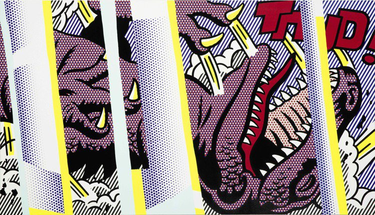Roy Lichtenstein「Reflections on Thud!」,1...