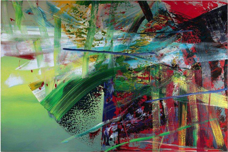Gerhard Richter 「硫」,1985年作,200.3 x 300.5...