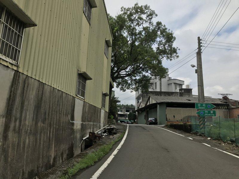 竹30線可接回台3線,為假日紓解內灣尖石風景區車潮的重要道路。圖/新竹縣政府提供