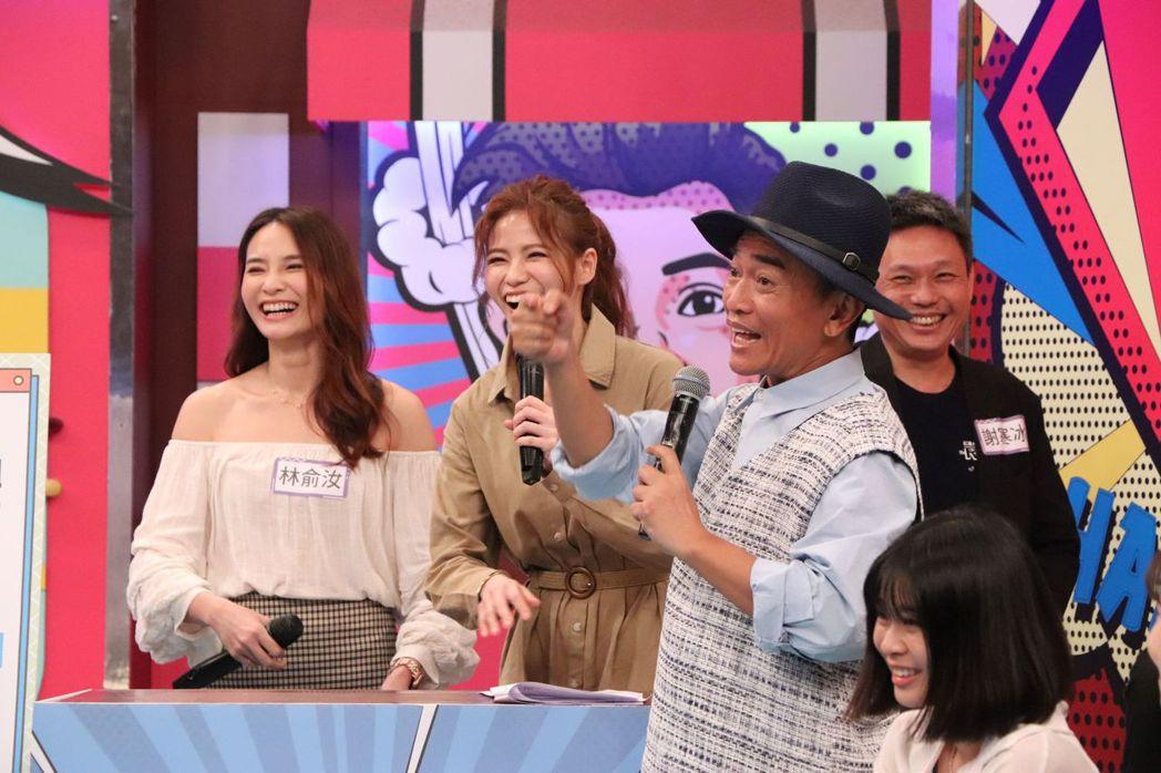 吳宗憲(右)自爆女兒常不接他的電話。圖/中天提供