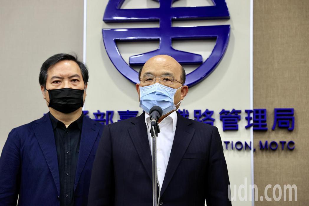 台鐵太魯閣號日前發生重大出軌事故,交通部長林佳龍昨天晚間在臉書宣布請辭。對於下一...