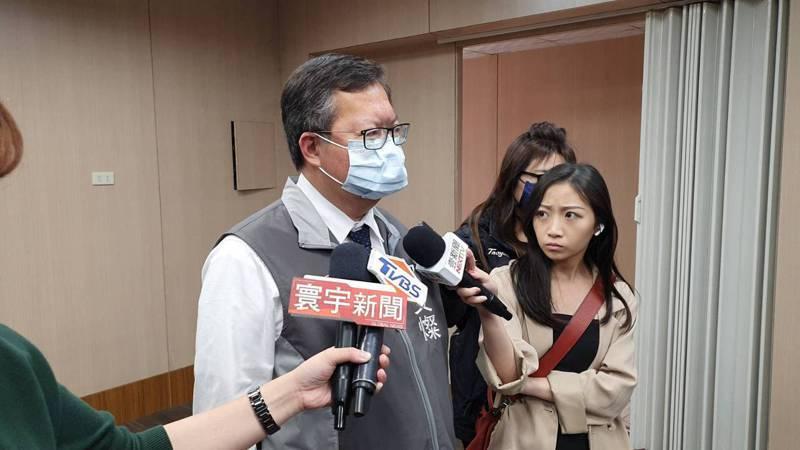 鄭文燦針對林佳龍口頭請辭僅低調表示,現在是救災復原時刻,究責部分要等待專家判斷及調查。記者張睿廷/攝影