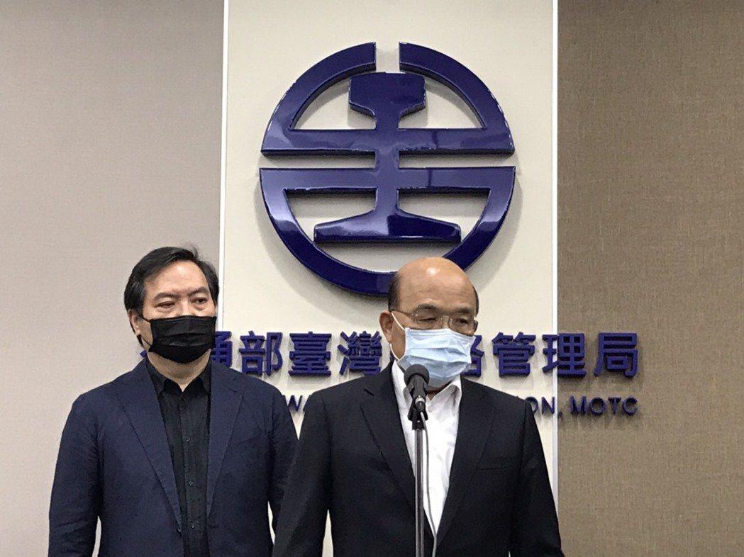 行政院長蘇貞昌指台鐵總體檢報告完成三天就交給各部會執行,發生這麼大的災難,還有人...