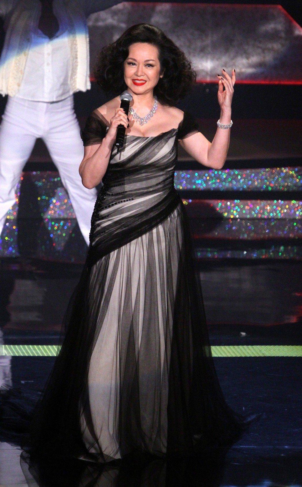 崔苔菁當年紅遍國際,被稱為「台灣的瑪丹娜」。圖/本報系資料照片