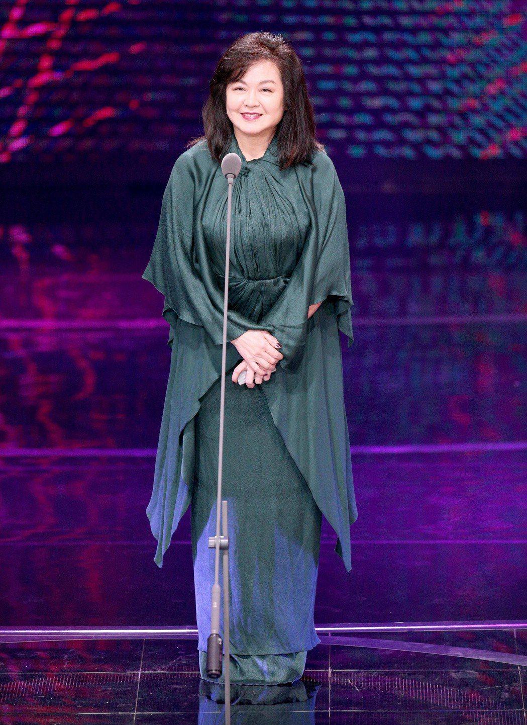 崔苔菁最近一次露面是2017年擔任金鐘獎的頒獎嘉賓。圖/本報系資料照片