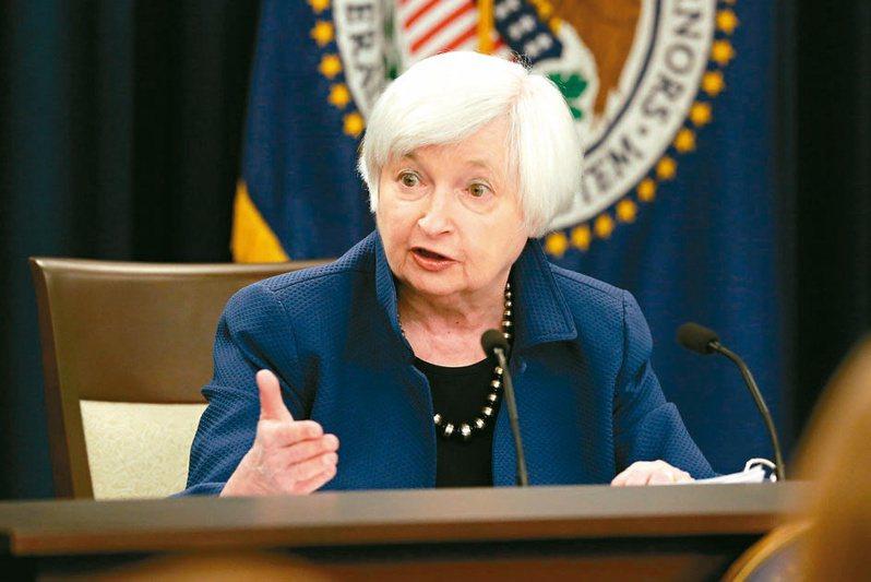 美國財長葉倫將呼籲實施全球性的最低企業稅負制。    路透