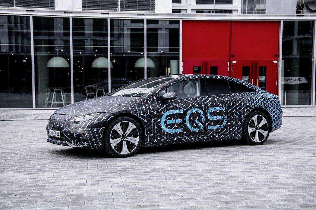 全新Mercedes-Benz EQS將在四月中正式發表。 摘自Mercedes...