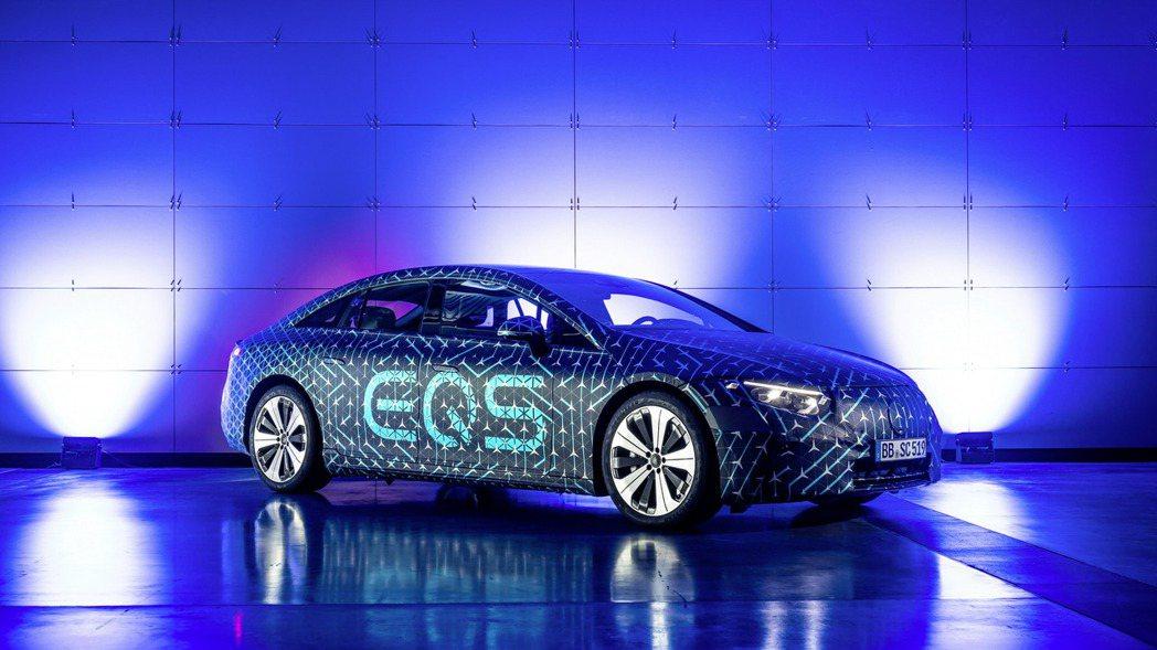 全新Mercedes-Benz EQS發表倒數。 摘自Mercedes-Benz