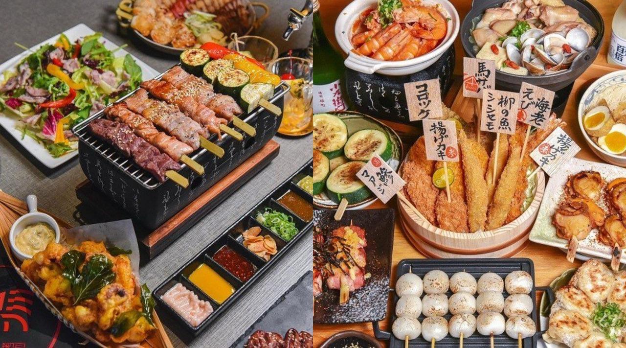 台中宵夜必吃「串燒居酒屋」人氣TOP 6!八色拼盤、浮誇魚卵丼飯 點綴微醺夜晚
