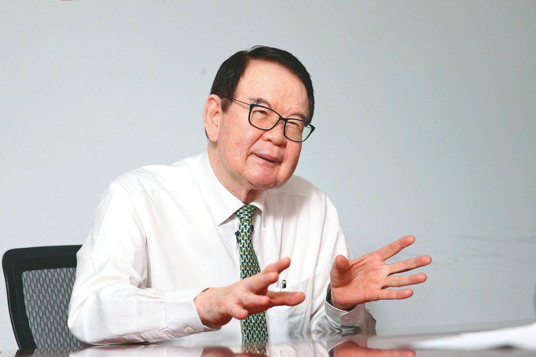儒鴻董事長洪鎮海 。記者蘇健忠/攝影