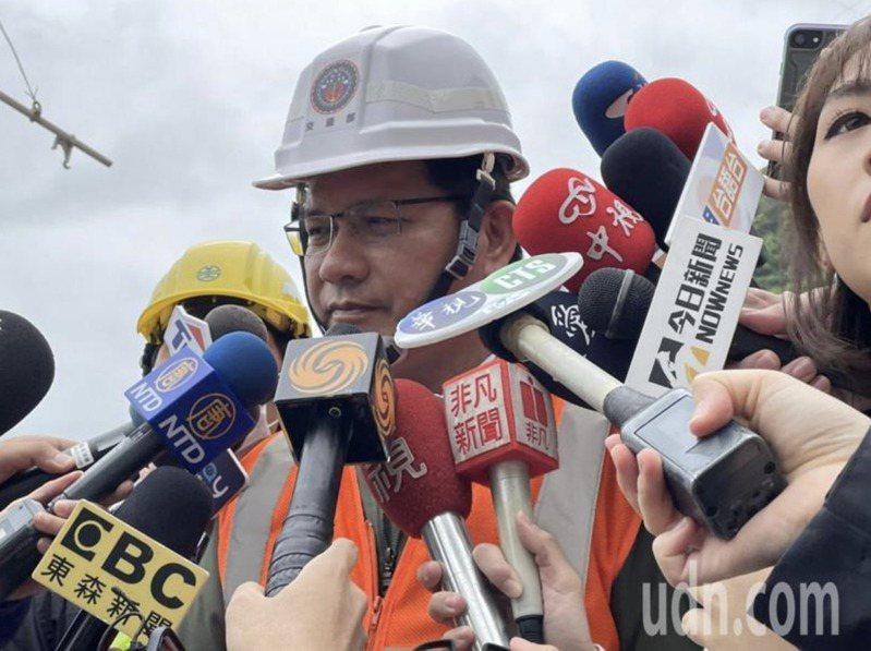 交通部長林佳龍。 報系資料照