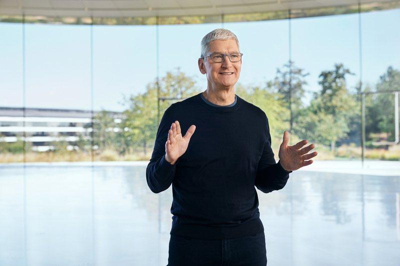 圖為蘋果公司執行長庫克。 歐新社