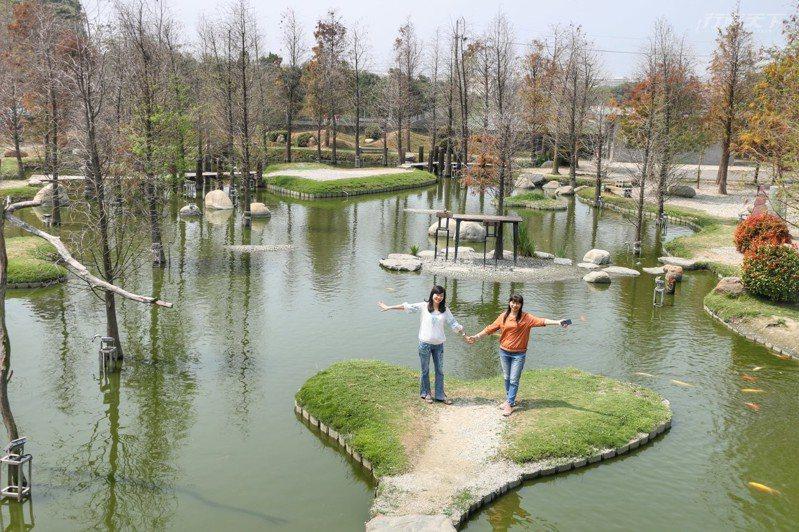 澄霖沉香味道森林館有如兼六園般處處充滿日式禪風。