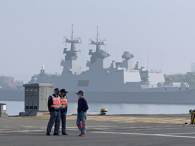 海軍司令部表示,拉法葉艦升級案依作戰需求「籌建、籌購」所需裝備,全案均已有妥善規劃,籲請國人支持。記者洪哲政/攝影