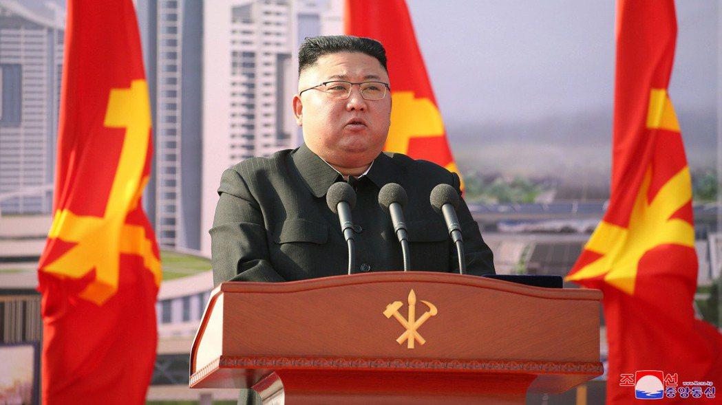 北韓領導人金正恩。路透資料照