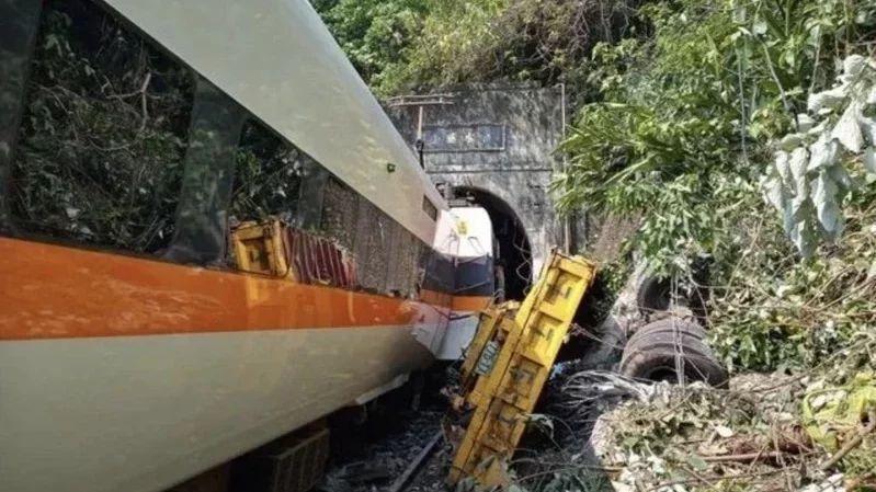 台鐵太魯閣號造成50名乘客死亡重大災難。聯合報資料照片