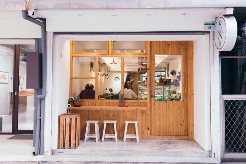 木白甜點咖啡店是行天宮商圈的人氣甜品店。圖/取自木白甜點咖啡店粉絲頁