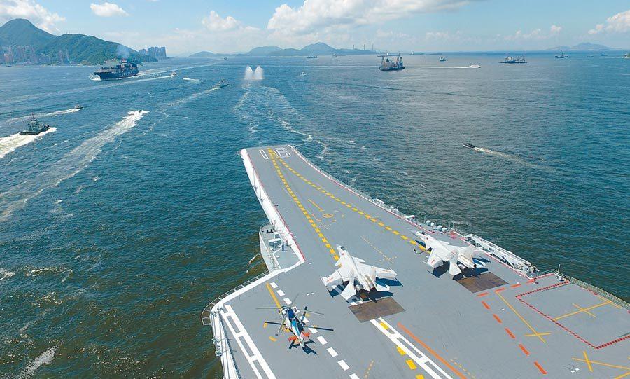 圖為遼寧艦。新華社資料照片