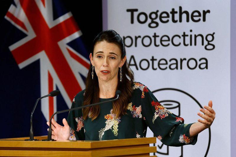 紐西蘭總理阿爾登。法新社