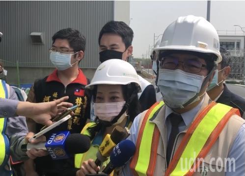 中部開始供五停二限水,台南市長黃偉哲表示,台南還可以撐到六、七月。記者周宗禎/攝影