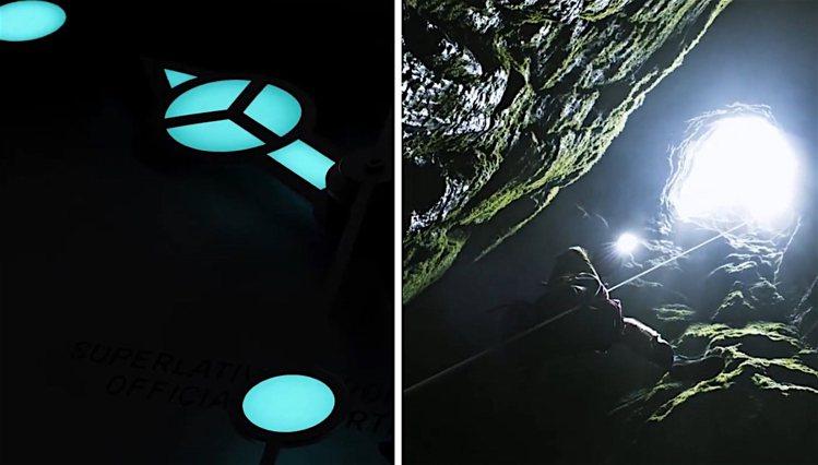 由於洞窟中探險的意相加上指針形式,讓網友推斷Explorer II將是2021年...