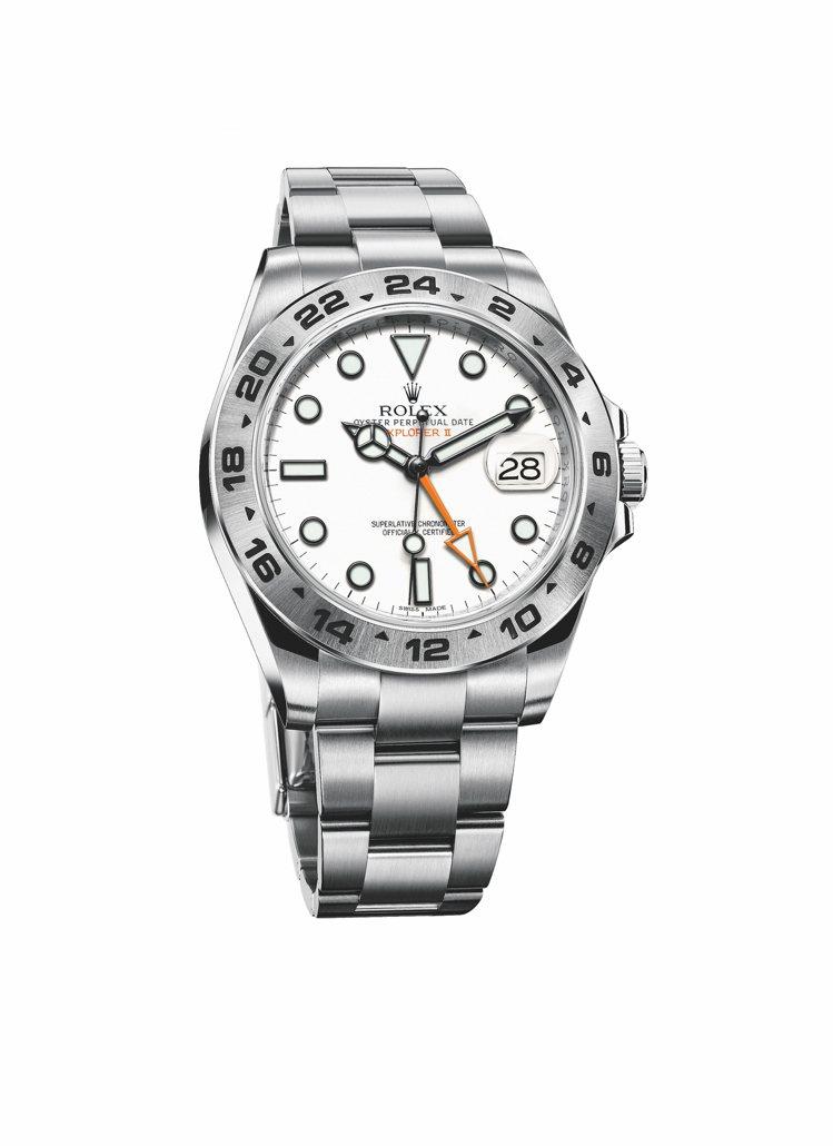 勞力士,蠔式恆動探險家型II(Explorer II)腕表,定價27萬5,000...