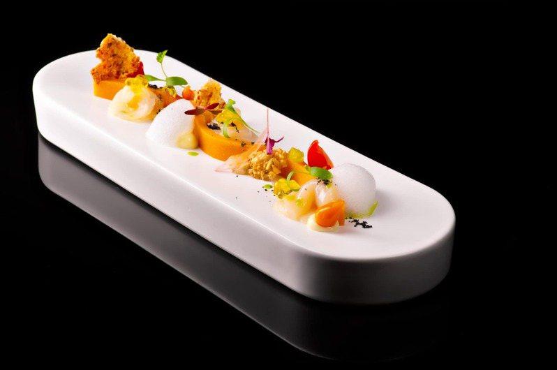 「序碼23」是最能表現出DNA Spanish Restaurant概念的一道菜色。圖/摘自DNA Spanish Restaurant臉書官網