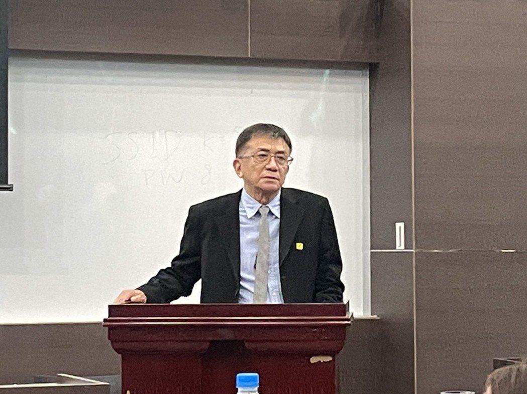 運安會主委楊宏智。記者曹悅華/攝影