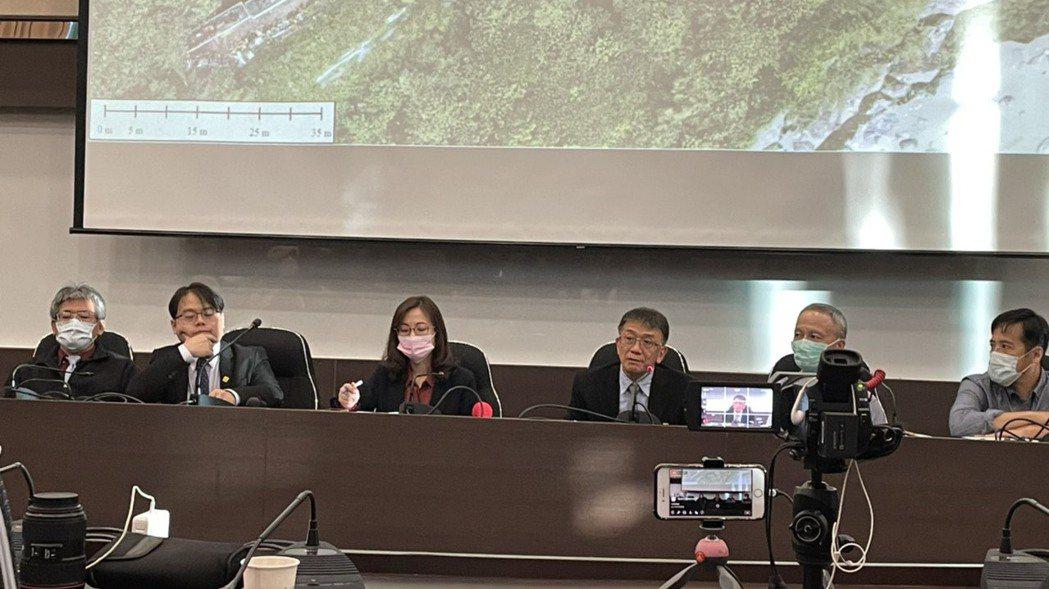 運安會今天下午4時召開花蓮清水隧道太魯閣號出軌案事故重建說明會。記者曹悅華/攝影