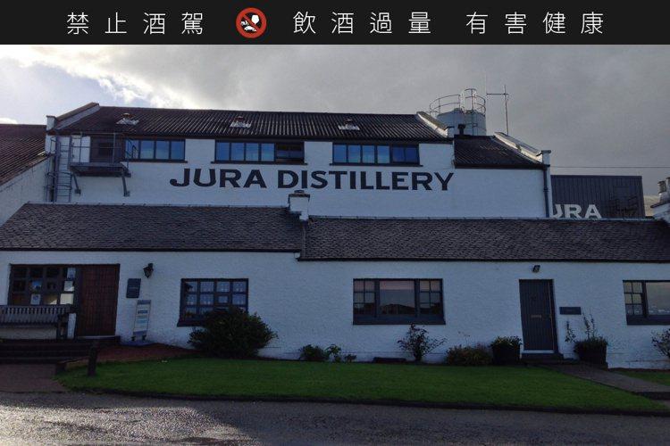 吉拉蒸餾廠位於蘇格蘭吉拉島。圖/尚格酒業提供。提醒您:禁止酒駕 飲酒過量有礙健康...