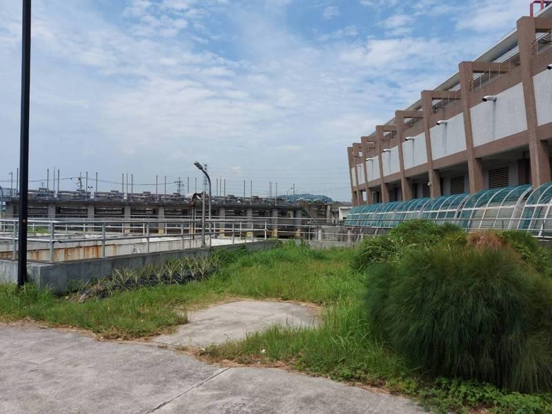 蘆洲水肥投入站預計設置在蘆北,廠房占地約70平方公尺,市府昨已與廠商簽約,最快4月底動工。圖/新北環保局提供