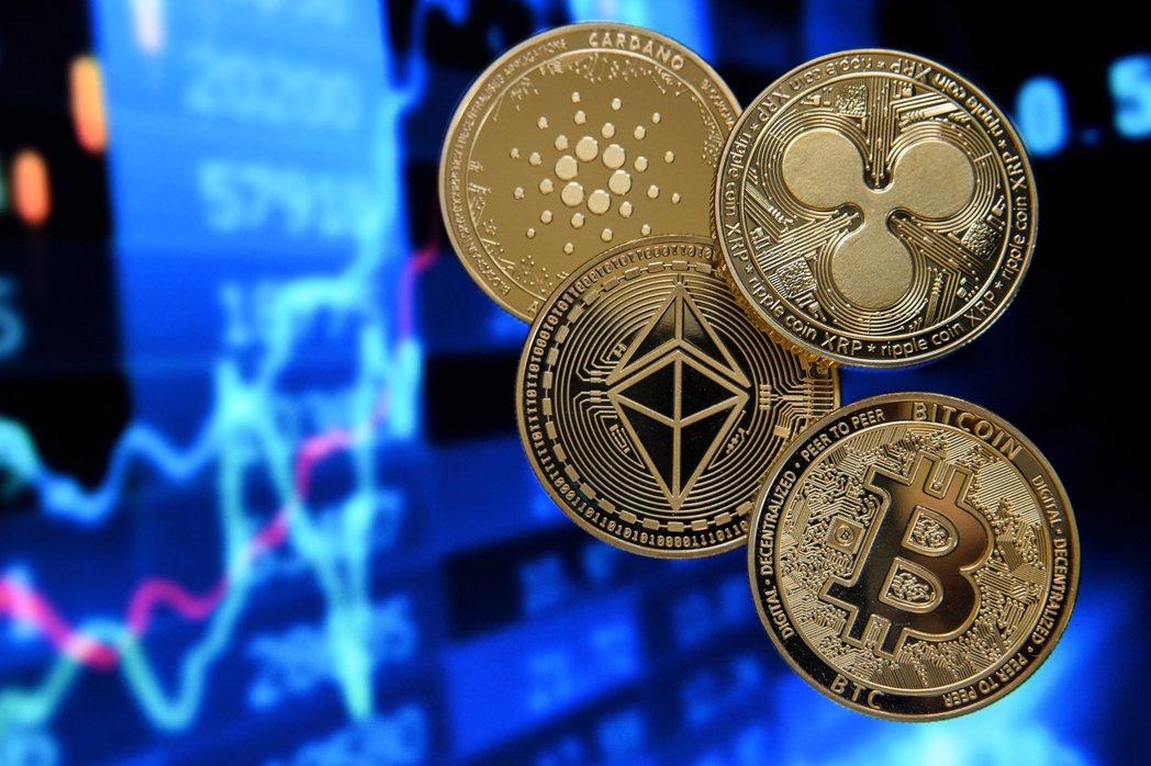 加密貨幣市值5日首次站上2兆美元大關。(歐新社)