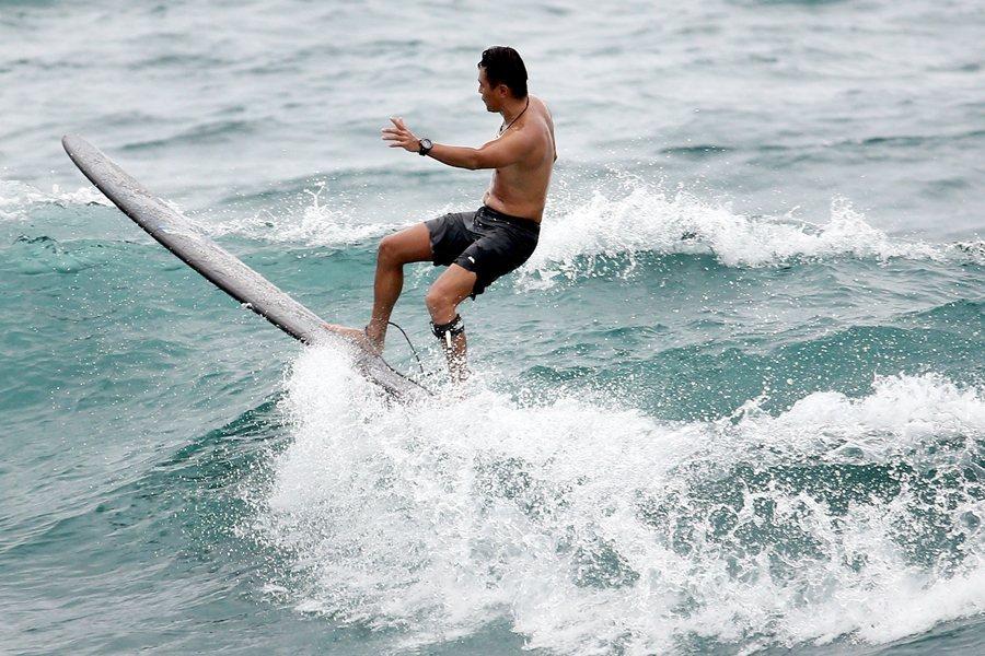 都歷海灘是許多衝浪玩家會去衝浪的地點。示意圖,非本文所指當事人。 圖/聯合報系資料照