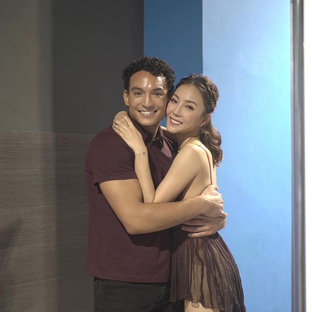 李炘頤日前為香港電視台「ViuTV」的5週年慶祝活動熱舞表演。圖/擷自「alin...