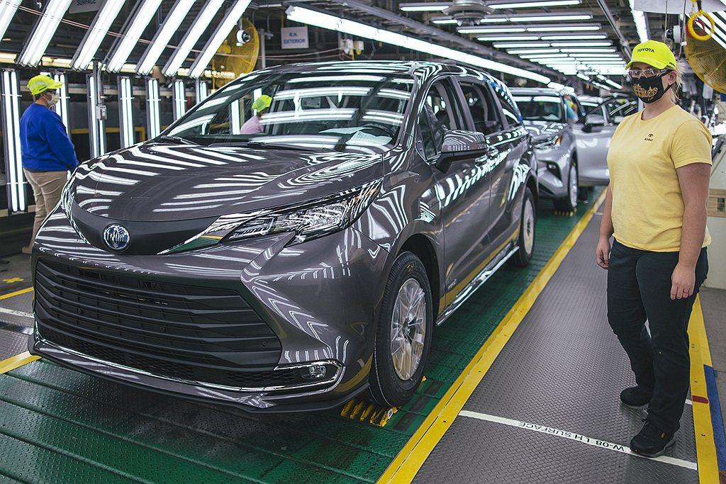 北美Toyota分公司宣布,位於美國印第安納州普林斯頓的新車生產基地,日前迎來第...