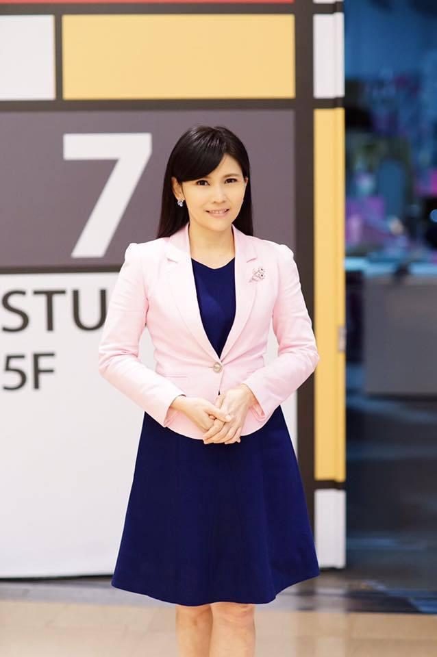 新北市府今公布,新北觀旅局長由TVBS新聞台前主播張愛晶接任。圖/翻攝張愛晶臉書
