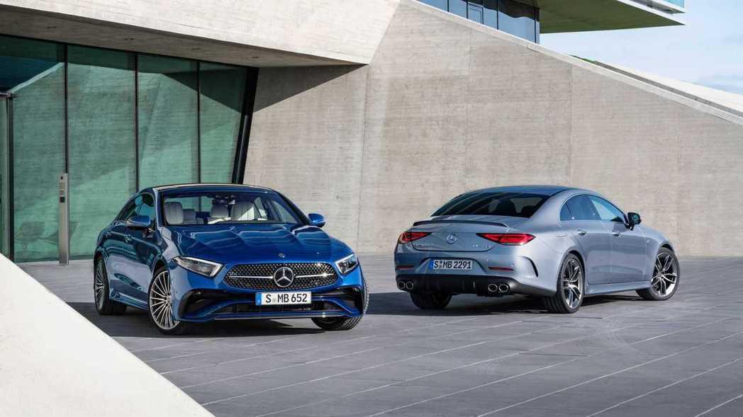 Mercedes-Benz CLS今年迎來小改款車型。 圖/Mercedes提供